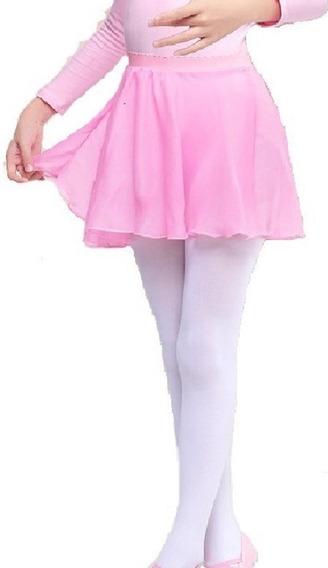 Ballet Chifón Falda Tutu Danza Niña Infantil Bailarina Festival Disfraz