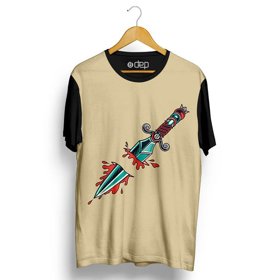 Camiseta Dep Punhal Bege
