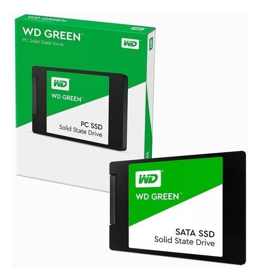 Disco Solido Ssd Western Digital 480gb Wd Green Sata 3