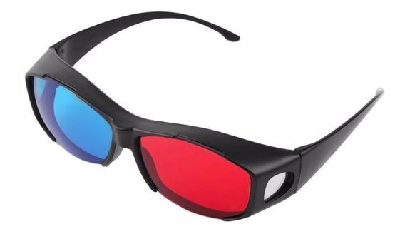Óculos 3d Universal Azul E Vermelho Nvidia Vision Discover