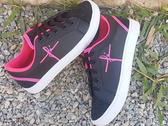 Kit Com 10 Tênis Sapatênis Sapatos Sapatilha Cores Sortidas