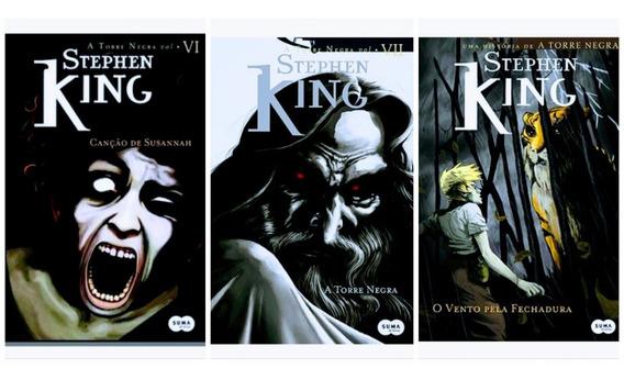 Livro Coleção Torre Negra Volumes 6, 7 E 8 - Stephen King