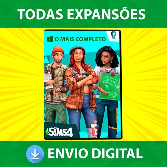 The Sims 4 Pc Mídia Digital + Tudo O Que Foi Lançado (2020)
