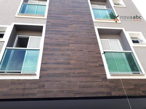 Apartamento Com 2 Dormitórios E 2 Vagas À Venda, 55 M² Por R$ 320.000 - Utinga - Santo André/sp - Ap0021