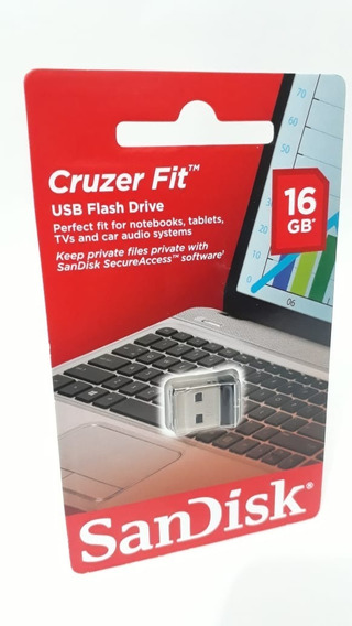 Pen Drive Ultra Mini 16gb Sandisk