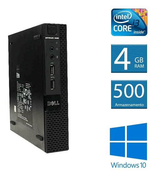 Computador Desktop Dell Optiplex Mini 3020 I3 4gb 500hd
