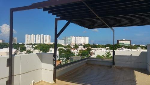 Penthouse Con Jacuzzi En Venta Residencial Elementos Cancun