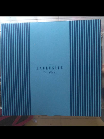 Kit Exclusive In Blue Avon (perfume E Loção) Frete Grátis