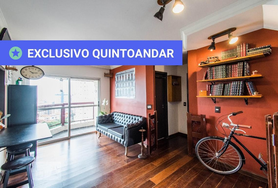 Apartamento No 9º Andar Mobiliado Com 2 Dormitórios E 2 Garagens - Id: 892950881 - 250881