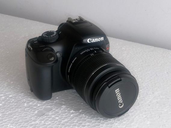 Câmera Prof. Canon Eos Rebel T3 +lente 18-55mm + Card 16 Gb