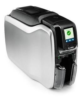 Impresora Tarjetas Pvc Zebra Zc300 Conexion Usb Y Ethernet