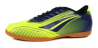 Tenis Futsal Penalty Adulto Storm Speed - 124119 Amarelo