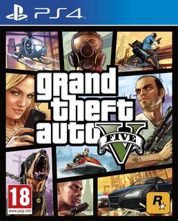 Juego Grand Theft Auto V Ps4