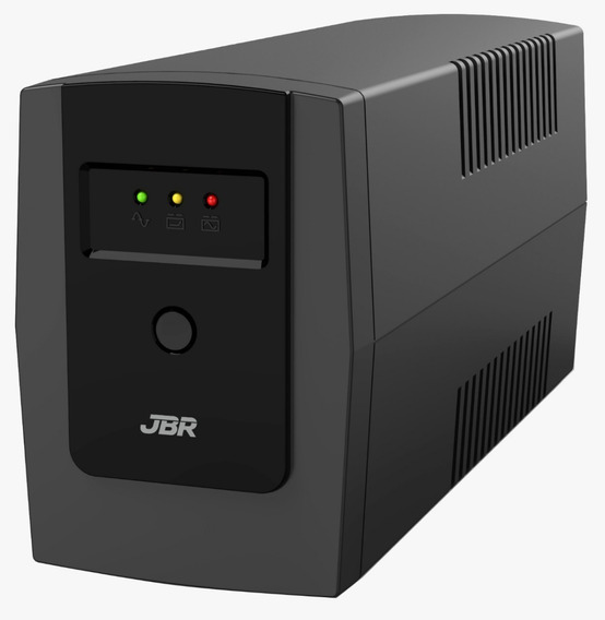Nobreak 600va E S 110v 3 Tomadas Camera Cftv Tv Pc Segurança