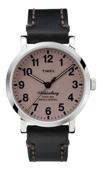 Relógio Timex Heritage Waterbury Edição Especial De 160 Anos