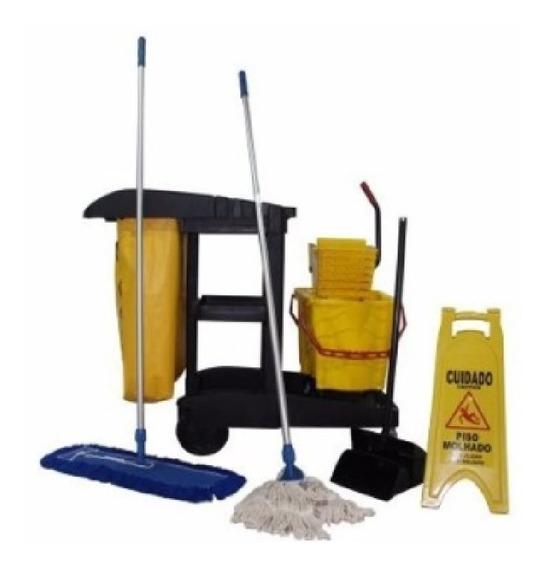 Carrinho Funcional De Limpeza Completo Promoção