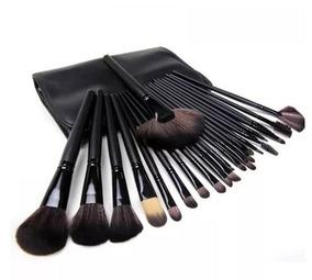 Kit Pincel Maquiagem 24 Pcs