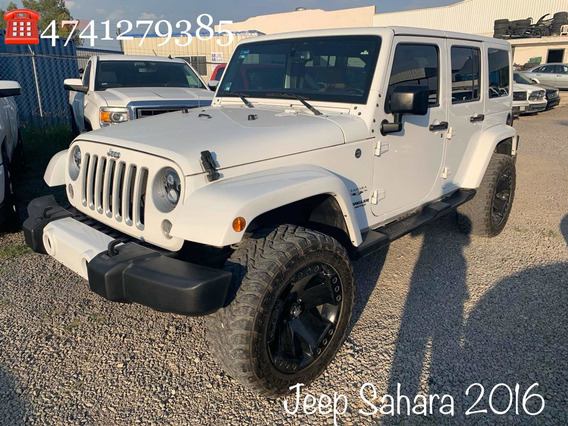 Jeep Wrangler 3.7 Unlimited Sahara 3.6 4x4 At 2016
