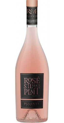 Imagen 1 de 10 de Vino Pulenta Estate Merlot Rosé 750ml. - Envíos