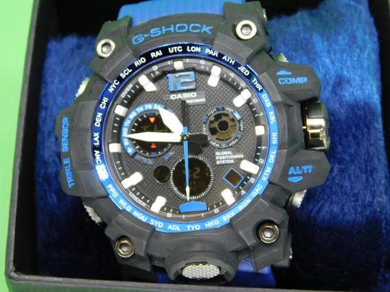 5 Relógios G-shock Triple Sensor Ponta De Estoque