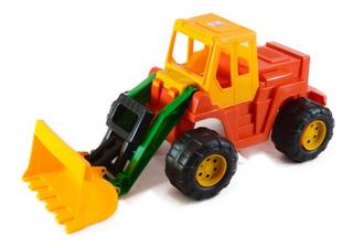 Tractor Excavadora Gigante Con Pala Duravit - 60x28x30 Cms