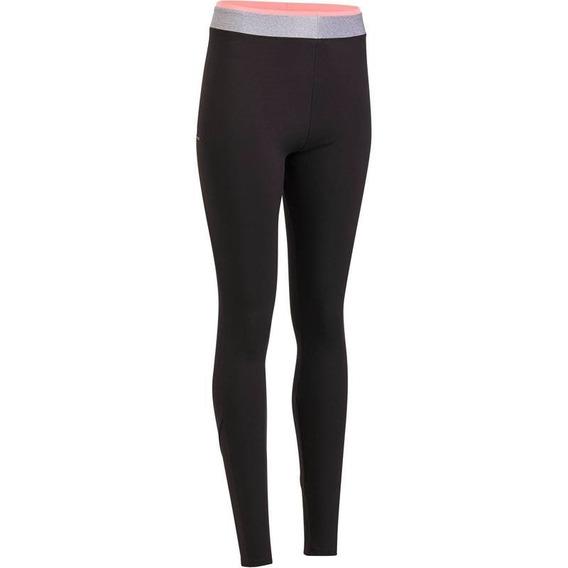 Leggings Cardio Fitness Para Mujer Negro 100 8393809