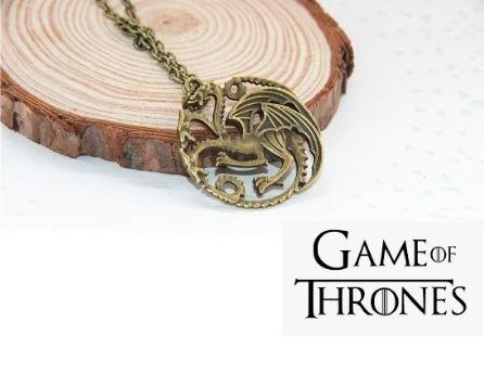 Corrente Dragão Targaryen Game Of Thrones