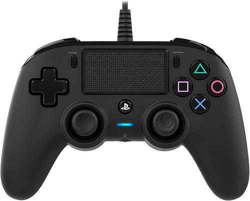 ..:: Control Alambrico Ps4 Negro ::.. Playstation 4 Nacon