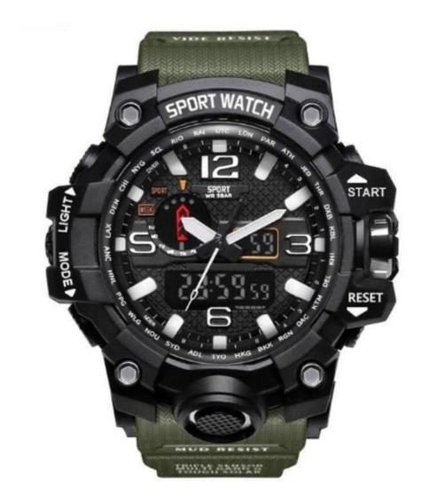 Relógio Masculino Lepadi 1036c Analógico Digital Esport