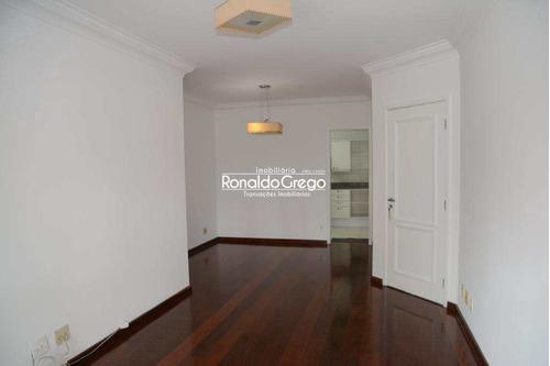 Aluga-se Apartamento Com 3 Dorms, Moema, São Paulo. - A3752