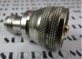116239 Adaptador Uhf Macho X Tnc Fêmea Klc - 043