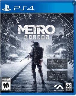 Metro Exodus Ps4 (nuevo Y Sellado De Fabrica)