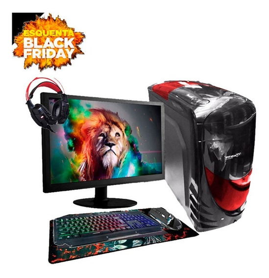 Pc Gamer Completo Aires Intel R7 240 8gb 500gb Black Friday
