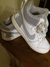 Tênis Original Da Nike Em Couro, Feminino. Em Ótimo Estado.
