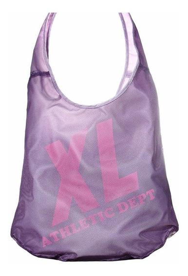 Xl Extra Large Sport Shopper Purpura Carteras Para Mujer.