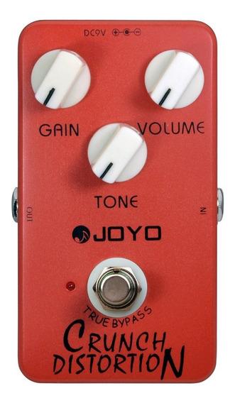 Pedal Guitarra Joyo Jf 03 Crunch Distortion