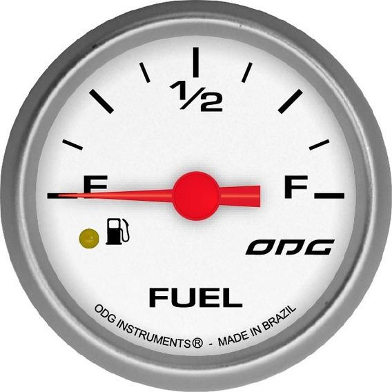 Indicador Odg Drag Fuel Level Nível Combustivel 52mm Ft Step
