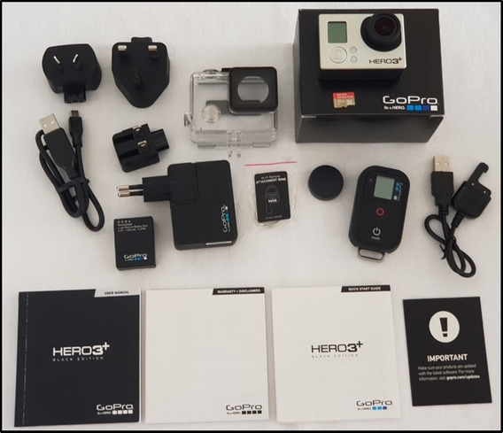 Câmera Gopro Hero 3+ Black 4k