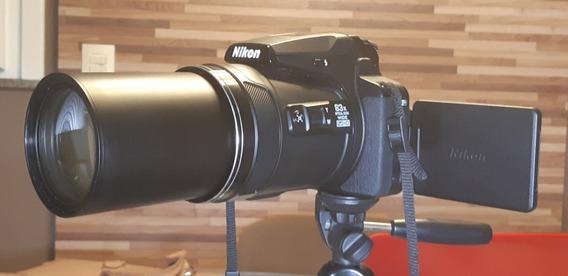 Nikon Coolpix P900 Zoom 83x, Tripé Hidráulico, Acessórios D+