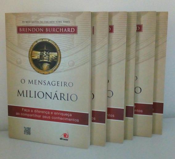 O Mensageiro Milionário Brendon Burchard Impresso F. Grátis