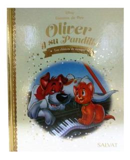 Cuentos De Oro Disney Salvat - Nº 96 Oliver Y La Pandilla