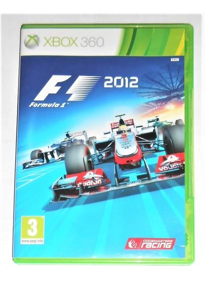 F1 2012 Original Completo Xbox 360 Cr $15