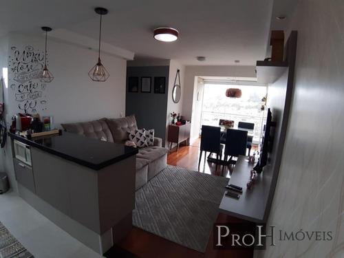 Imagem 1 de 15 de Apartamento Para Venda Em Diadema, Piraporinha, 3 Dormitórios, 1 Suíte, 2 Banheiros, 1 Vaga - Panotais