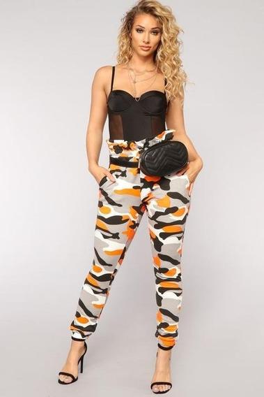 Pantalones Joggers Camuflajeados Mujer Sexy Fashion Nova