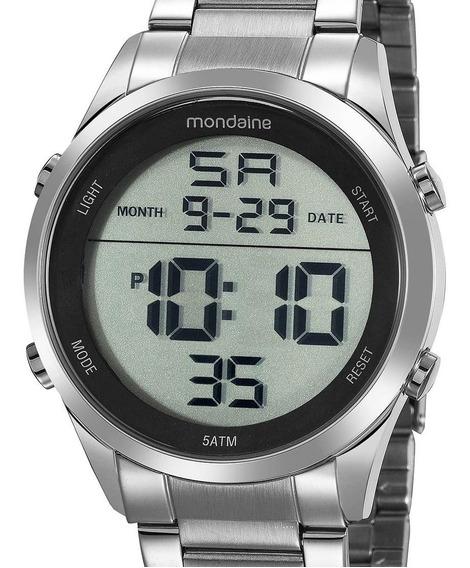 Relógio Mondaine Digital Prata 53965g0mvne1 Feminino + Nfe