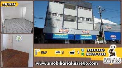 Ap1527- Apartamento No Centro, 1 Quarto,próx.banco Santander