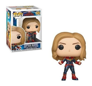 Funko Pop! #459 Capitana Marvel Avengers Original