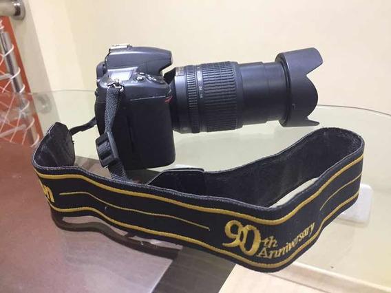 Câmera Nikon D7000 + Flash Yn + 2 Lentes