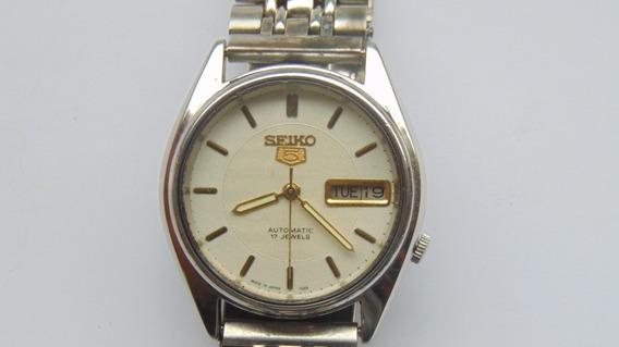 Relogio Seiko 7019 Automatico 17jewles Datedate Revisado