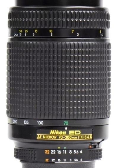 Lente Nikon Zoom Af 70-300mm F/1:4-5.6 D Ed Garantia +nf.e §